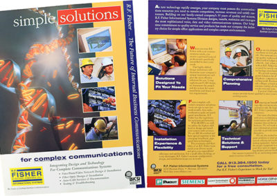 Corporate Brochure Writing and Design