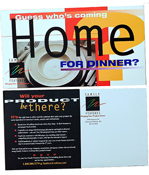 Corporate Direct Mail Postcard